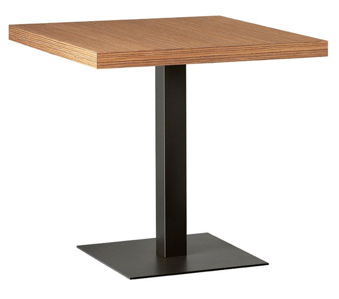 brauner Tisch für Pizzeria und Bar